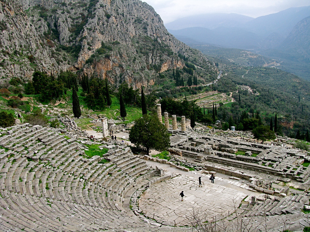 Delphi, Greece<br /> January 2008