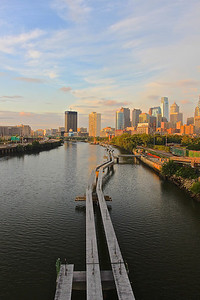 View from South Street Bridge Philadelphia, PA