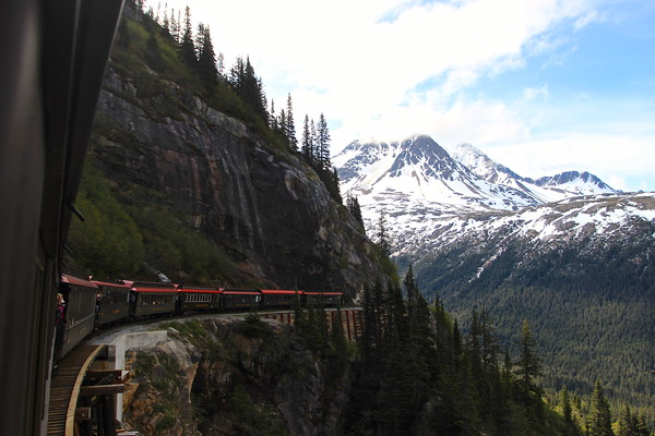 White Pass Rail, Skagway Alaska June 2013