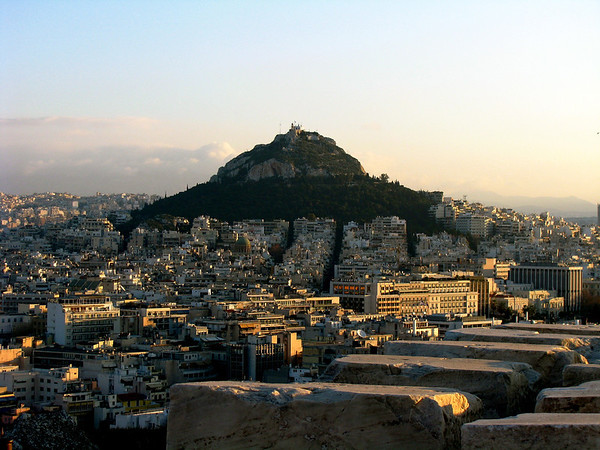 Mount Lycabettus, Athens Greece January 2008