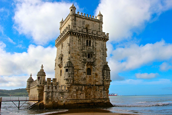 Tower of Belem, Lisbon Portugal March 2013